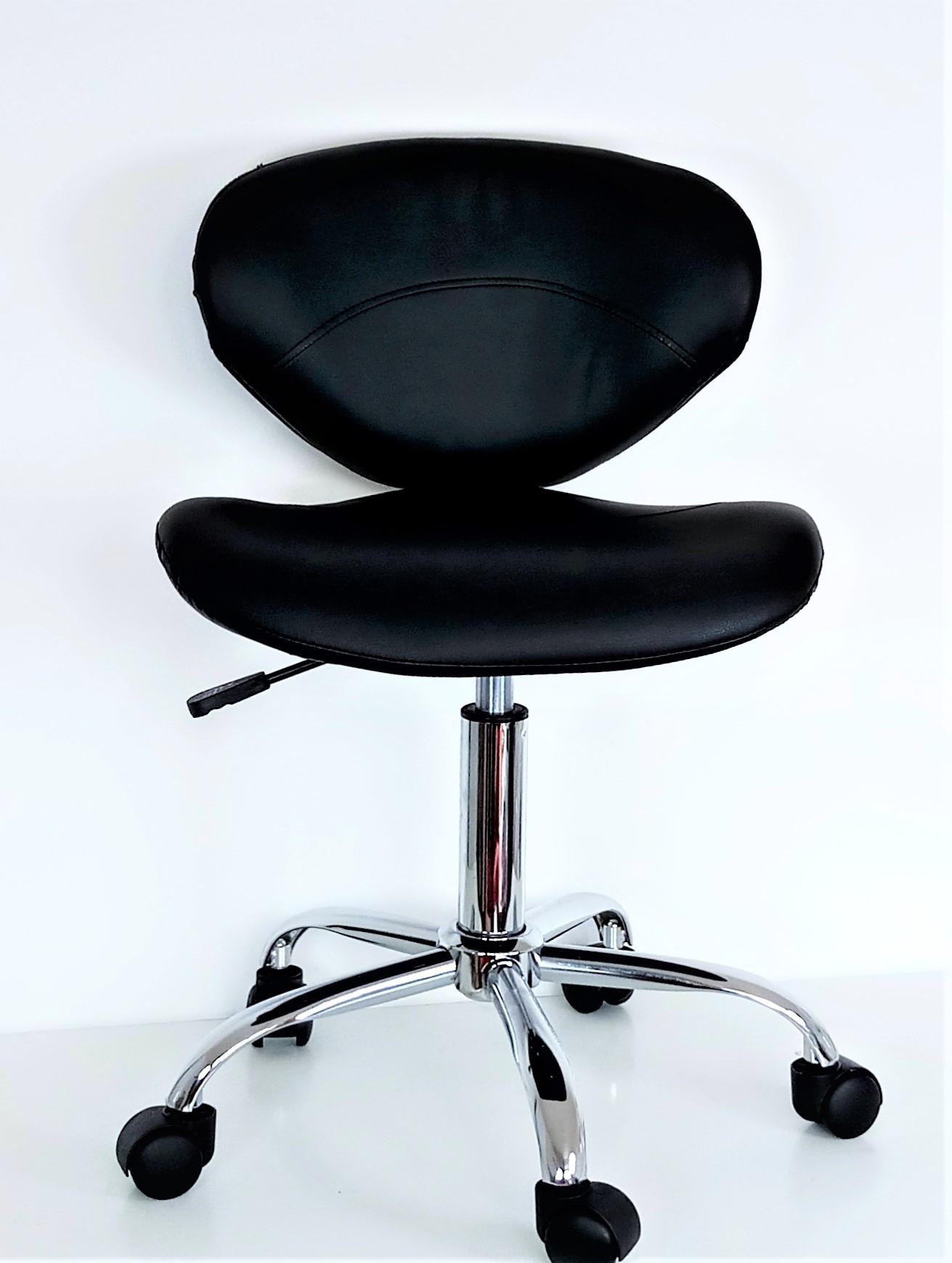 ghế thợ mầu đen