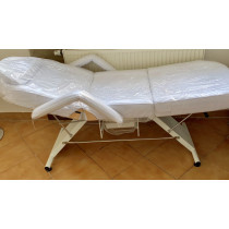 giường mi mầu trắng , chân thấp